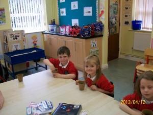Classroom work april 022